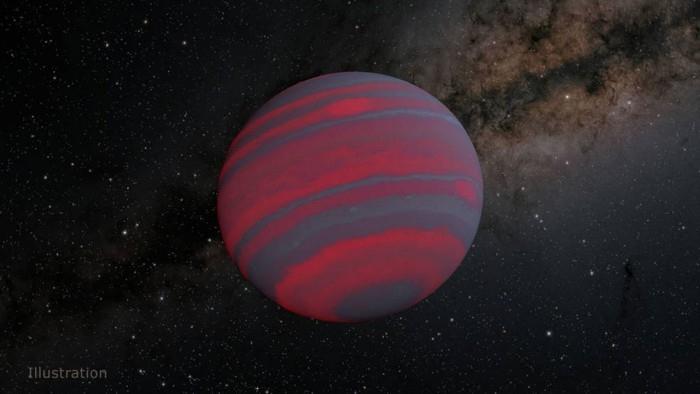 科学家可能已经发现了褐矮星自转的速度极限