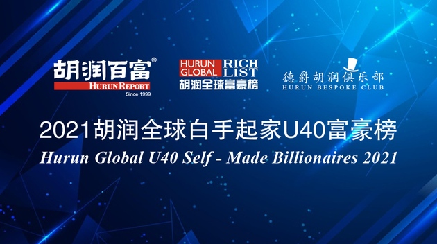 2021胡润全球白手起家40岁以下富豪榜北京上榜人数首超旧金山