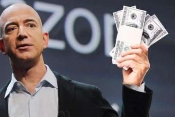 贝索斯再抛售17亿美元亚马逊股票本月累计变现约67亿美元