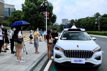 百度宣布ApolloRobotaxi全面开放广州试运营服务可上下车站点达237个